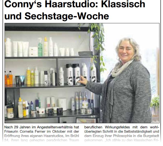 Kronberger Bote Ausgabe 2015 KW 45 mit Conny im Haarstudio